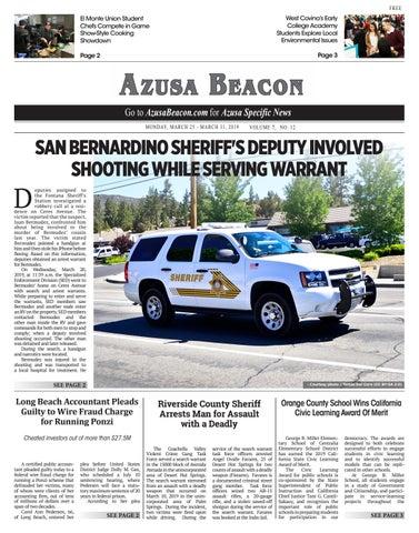 Azusa Beacon - 03/25/2019 by Beacon Media News - issuu