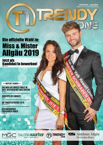 9807b4f2a5520 TRENDYone | Das Magazin - Allgäu - April 2019