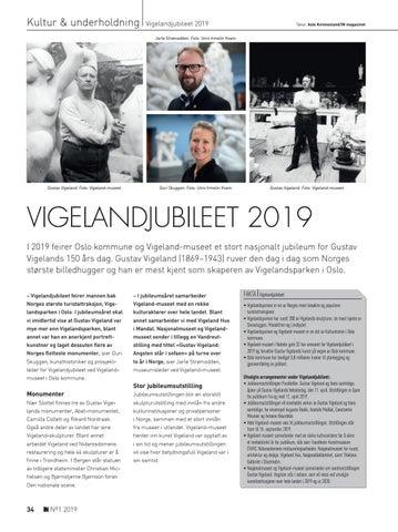 Page 34 of Vigelandjubileet 2019