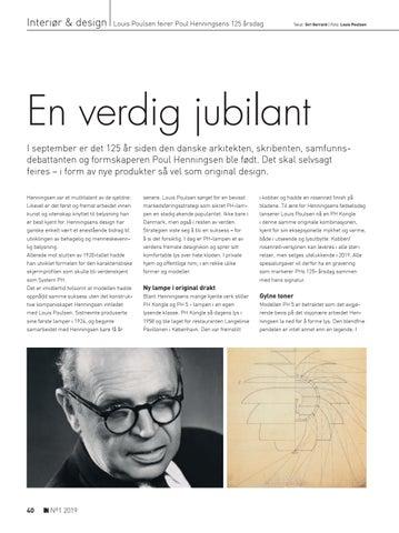 Page 40 of Louis Poulsen feirer Poul Henningsens 125 årsdag