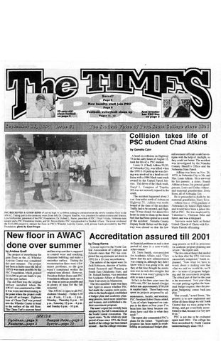 9804feab672e 1994-1995 The Times (Peru, NE) - issues 1-10 by Peru State College ...