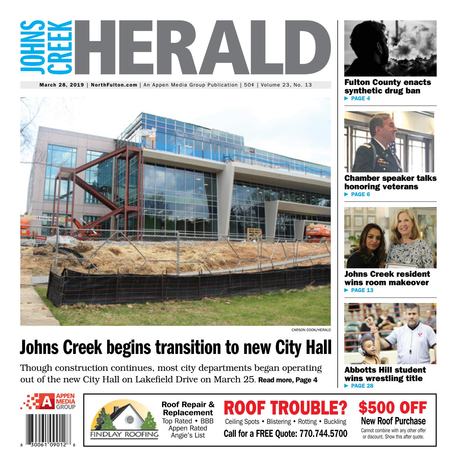 Johns Creek Herald – March 28, 2019 by Appen Media Group - issuu