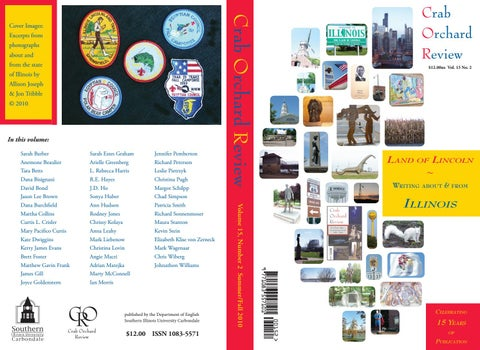 Crab Orchard Review Vol 15 No 2 Sf 2010 By Crab Orchard Review Issuu