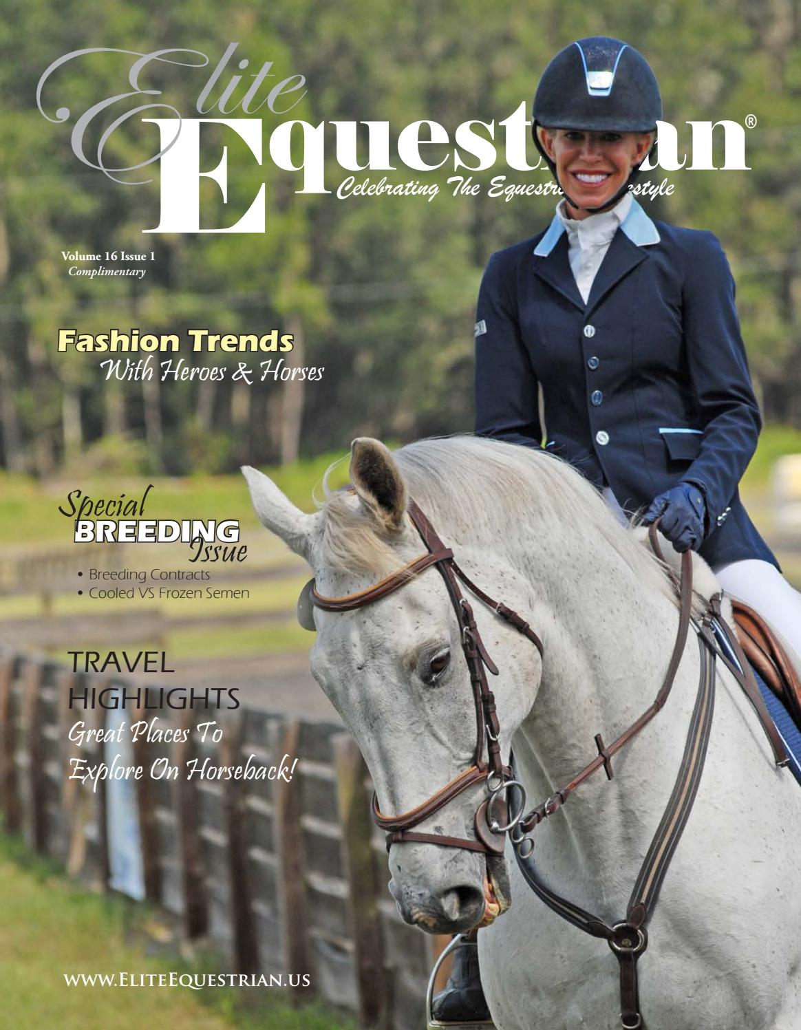Elite Equestrian magazine Jan Feb 16 issue by Elite