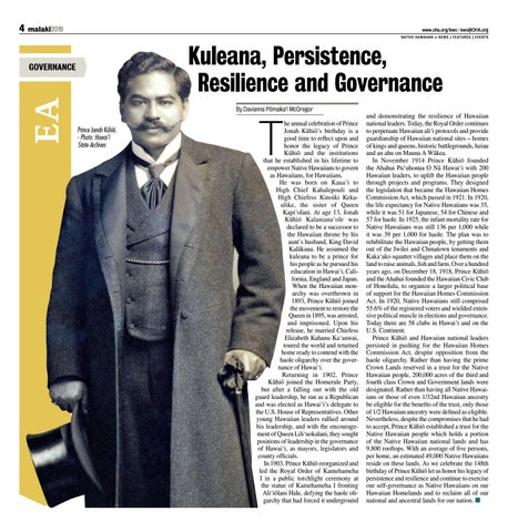 Page 4 of Kuleana, Persistence, Resilience and Governance