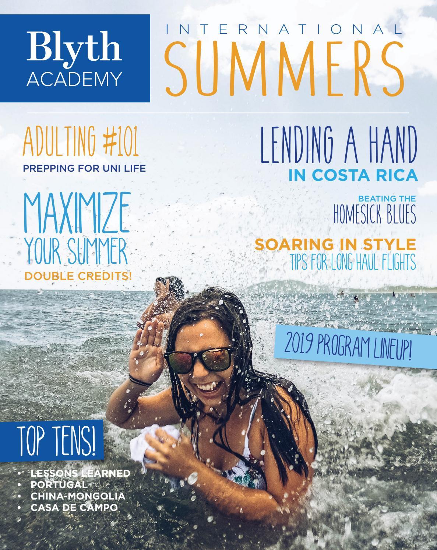 International Summer Student Magazine by Blyth Academy - issuu