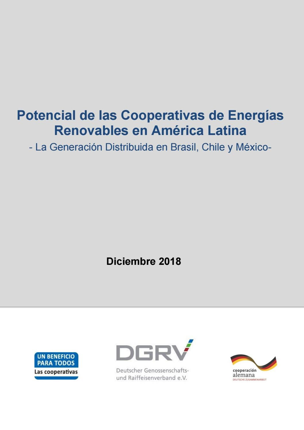 2214077a7ee Potencial de las Cooperativas de Energías Renovables en América Latina − La  Generación Distribuida e by Instituto ideal - issuu