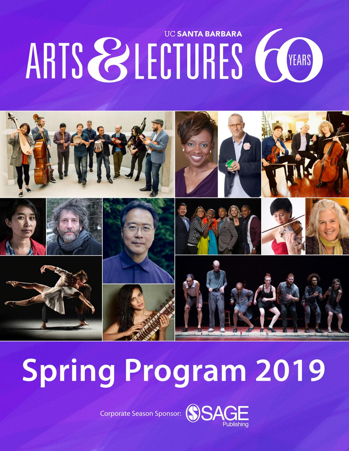 UCSB Arts & Lectures - Spring Program 2019 by UCSB Arts
