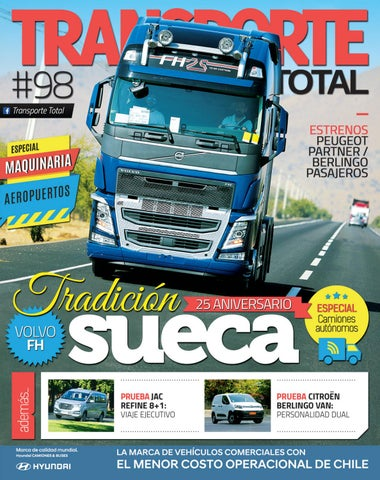26c481412 Revista Transporte Total Nº 98 (Marzo 2019) by RS Chile - issuu