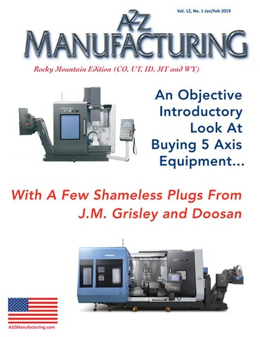 A2Z Manufacturing SW Edition Mar 2019 by A2Z Manufacturing