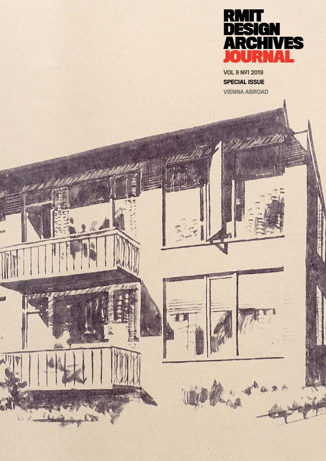Rmit Design Archives Vol 9 No 1 2019 Special Issue Vienna Abroad By Rmit Design Archives Issuu