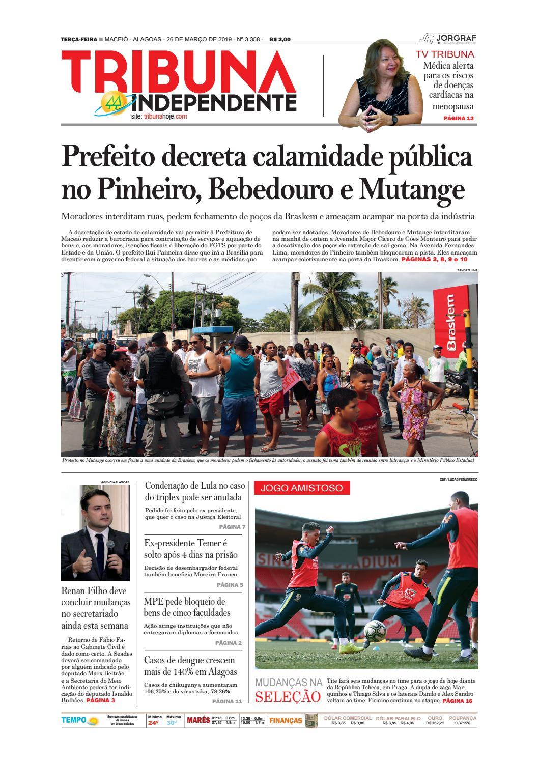 2548a22c6 Edição número 3358 – 26 de março de 2019 by Tribuna Hoje - issuu