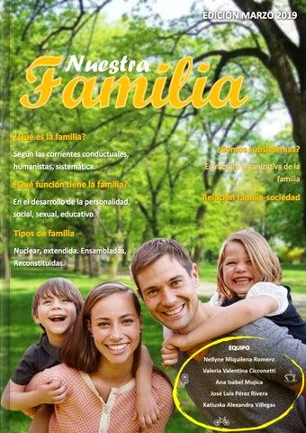 Equipo 2 Revista Nuestra Familia By N M Issuu