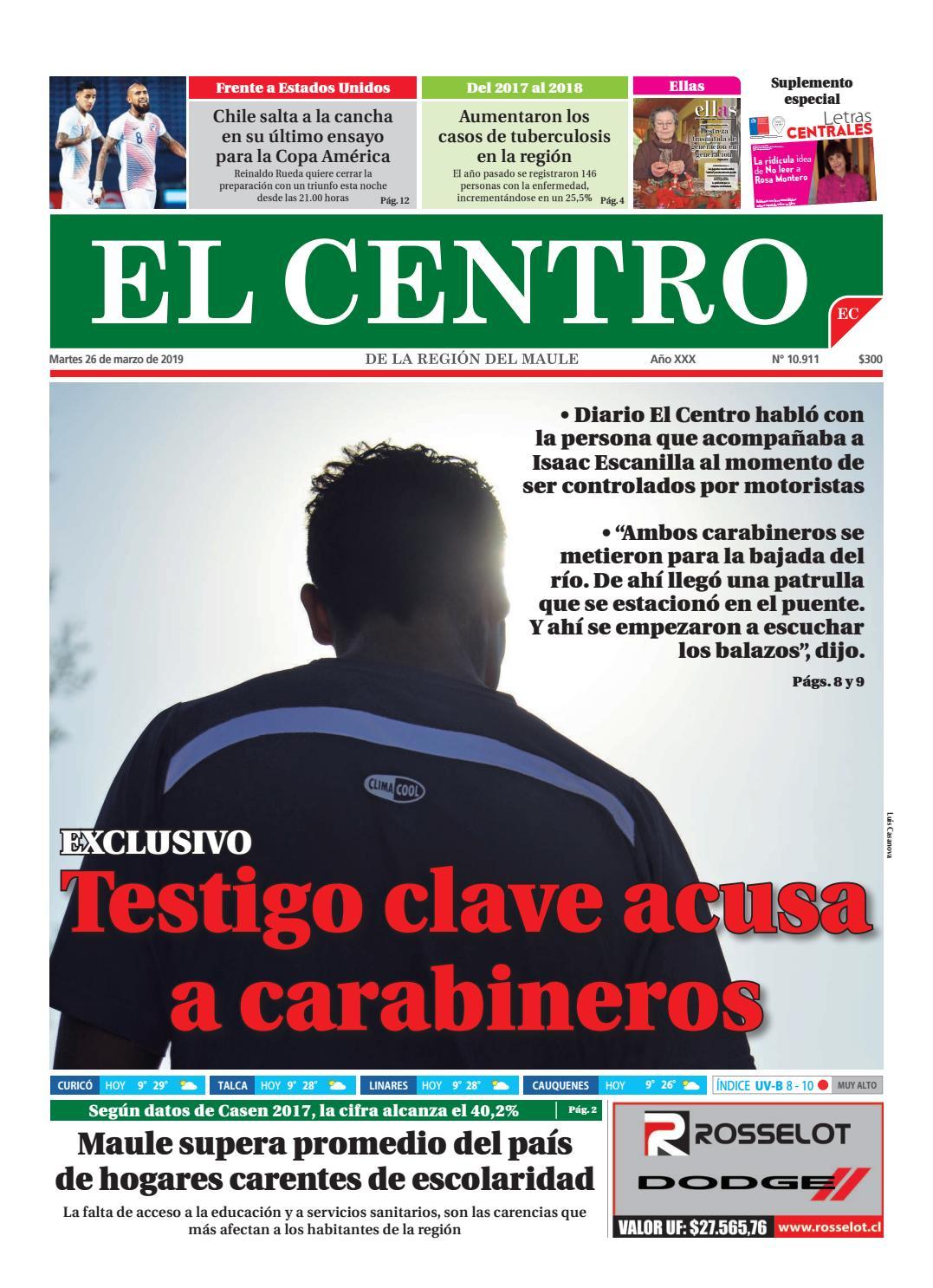 9eae27d0b diario 26-03-2019 by Diario El Centro S.A - issuu