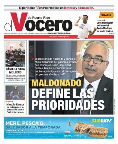234b8645d10c Edición del 26 de marzo de 2019 by El Vocero de Puerto Rico - issuu