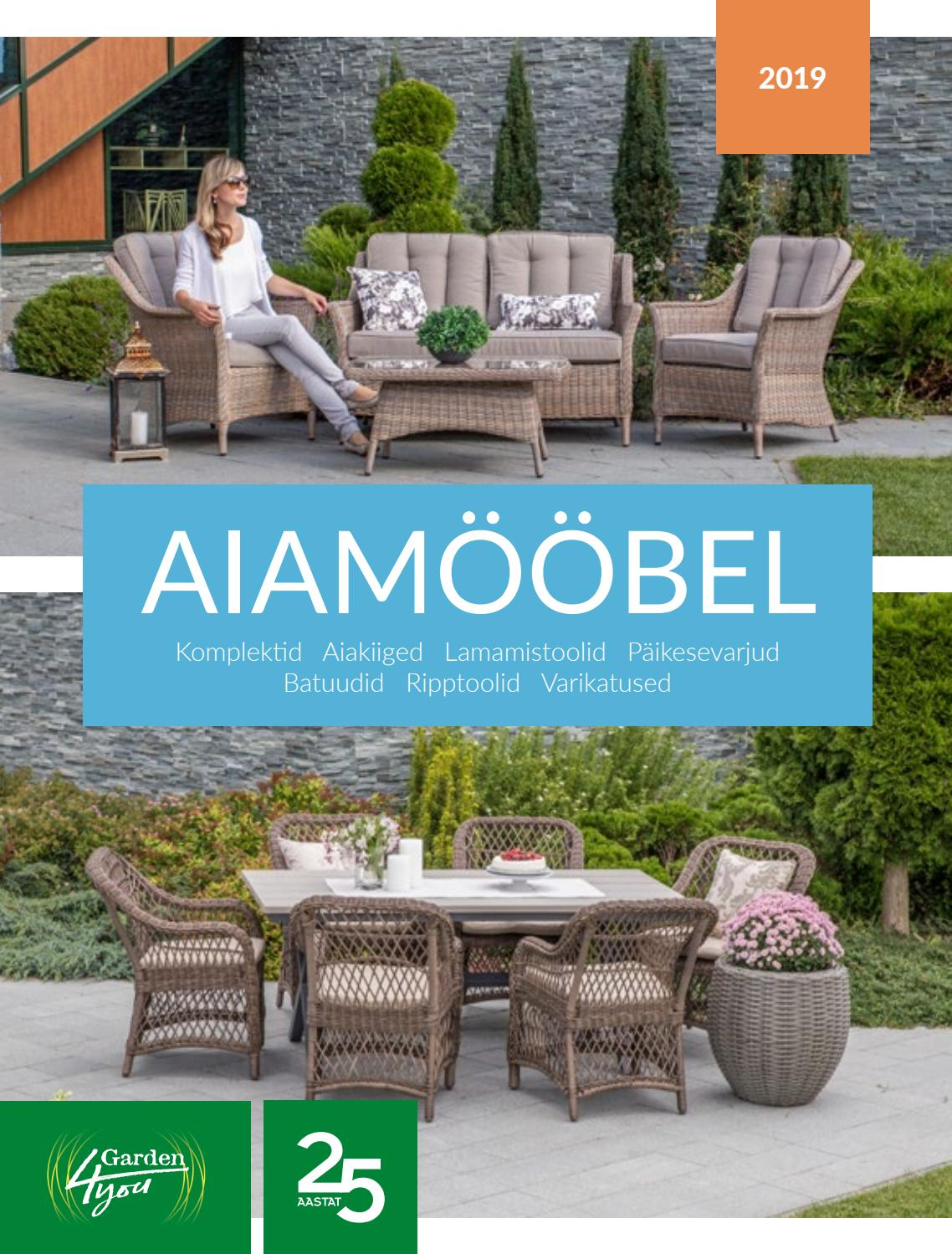 5fa28370e05 Home4you garden furniture catalogue 2019 by Home4you.ee - issuu