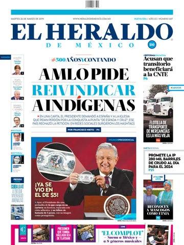 ba6e1b0d5 Martes 26 de marzo de 2019 by El Heraldo de México - issuu