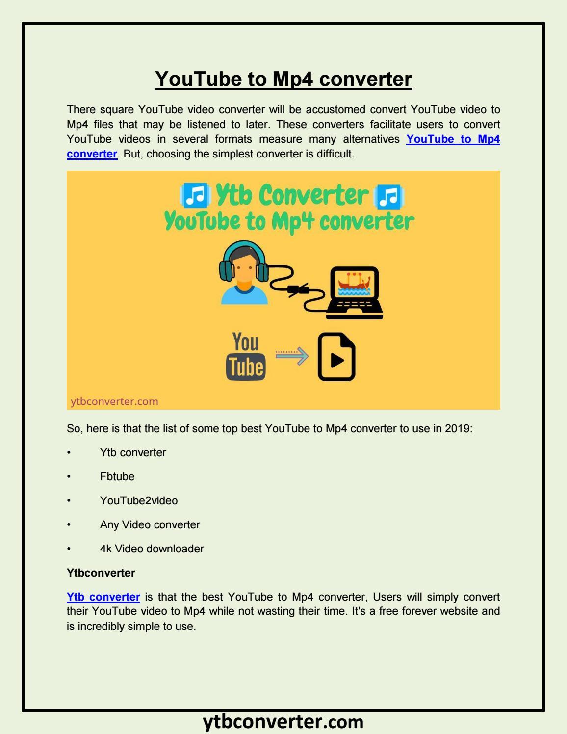 YouTube to Mp4 converter by akshaytrank - issuu