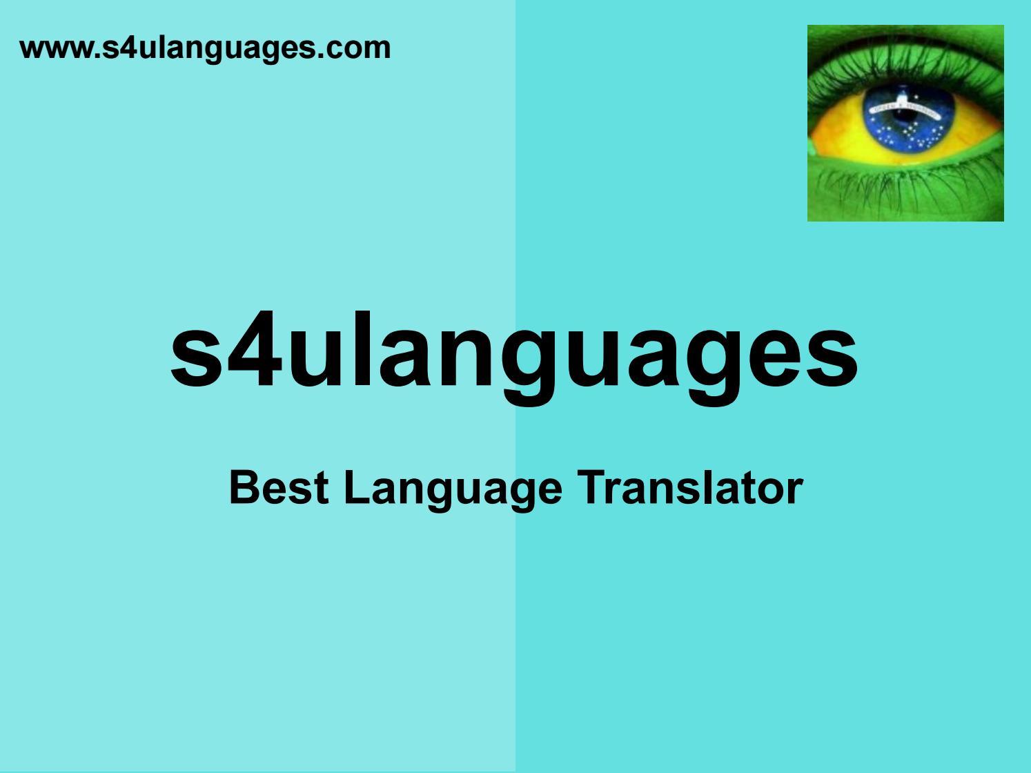 Best Brazilian To English Translation