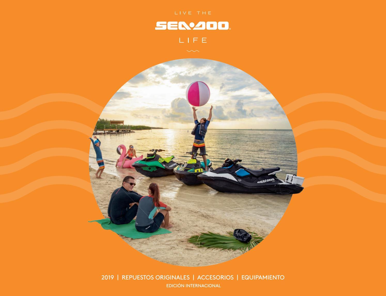 Catalogo motos de agua Sea Doo accesorios y ropa 2019 by