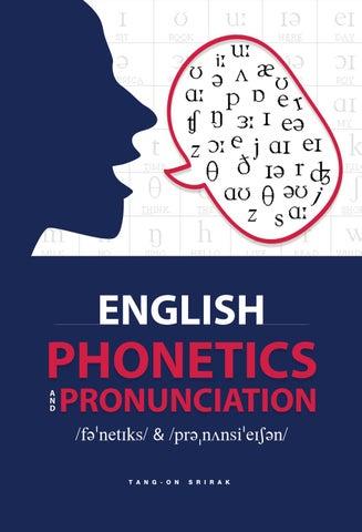 """English Phonetics And Pronunciation By À¸""""วงกมล À¸™à¸²à¸£ À¸™à¸™à¸— Issuu"""