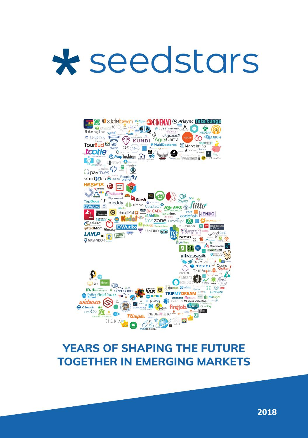 c2e1961bcfb6 5 Years of Seedstars by Seedstars World - issuu