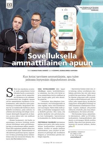 Page 36 of Sovelluksella ammattilainen apuun