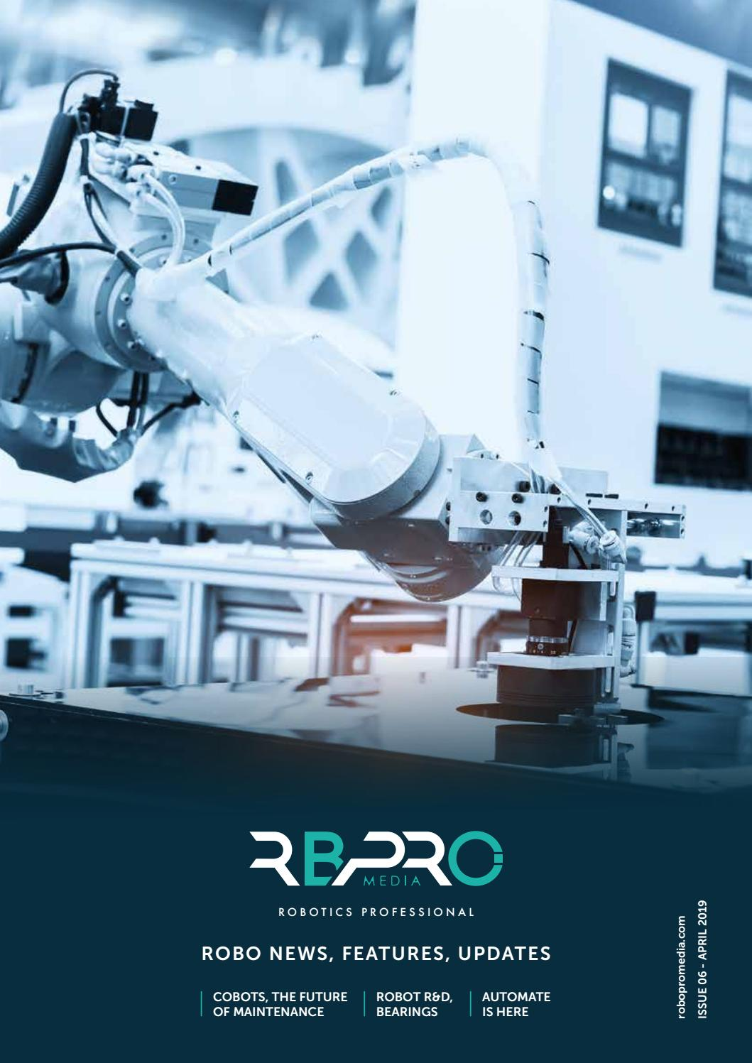 ROBO News, features  updates | ROBOPRO 06 | April 2019 by Clifton