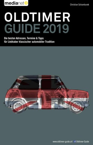 Oldtimer Guide 2019 By Medianet Issuu