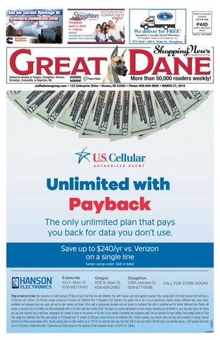 3/27/19 Great Dane Shopping News by Woodward Community Media