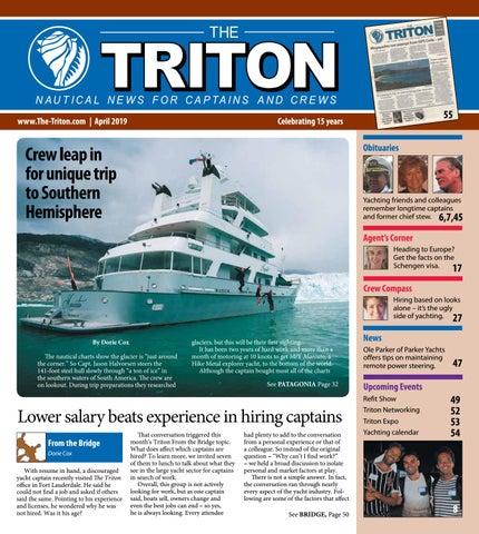 Triton April 2019 Vol  16, No 1 by The Triton - issuu