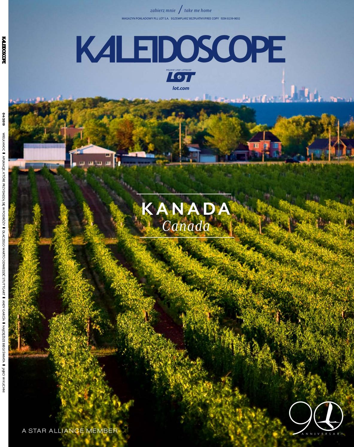 Kaleidoscope April 2019 By Lot Polish Airlines Issuu