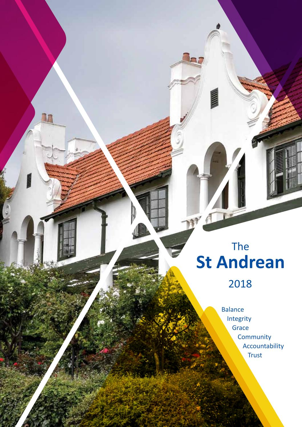 The St Andrean 2018