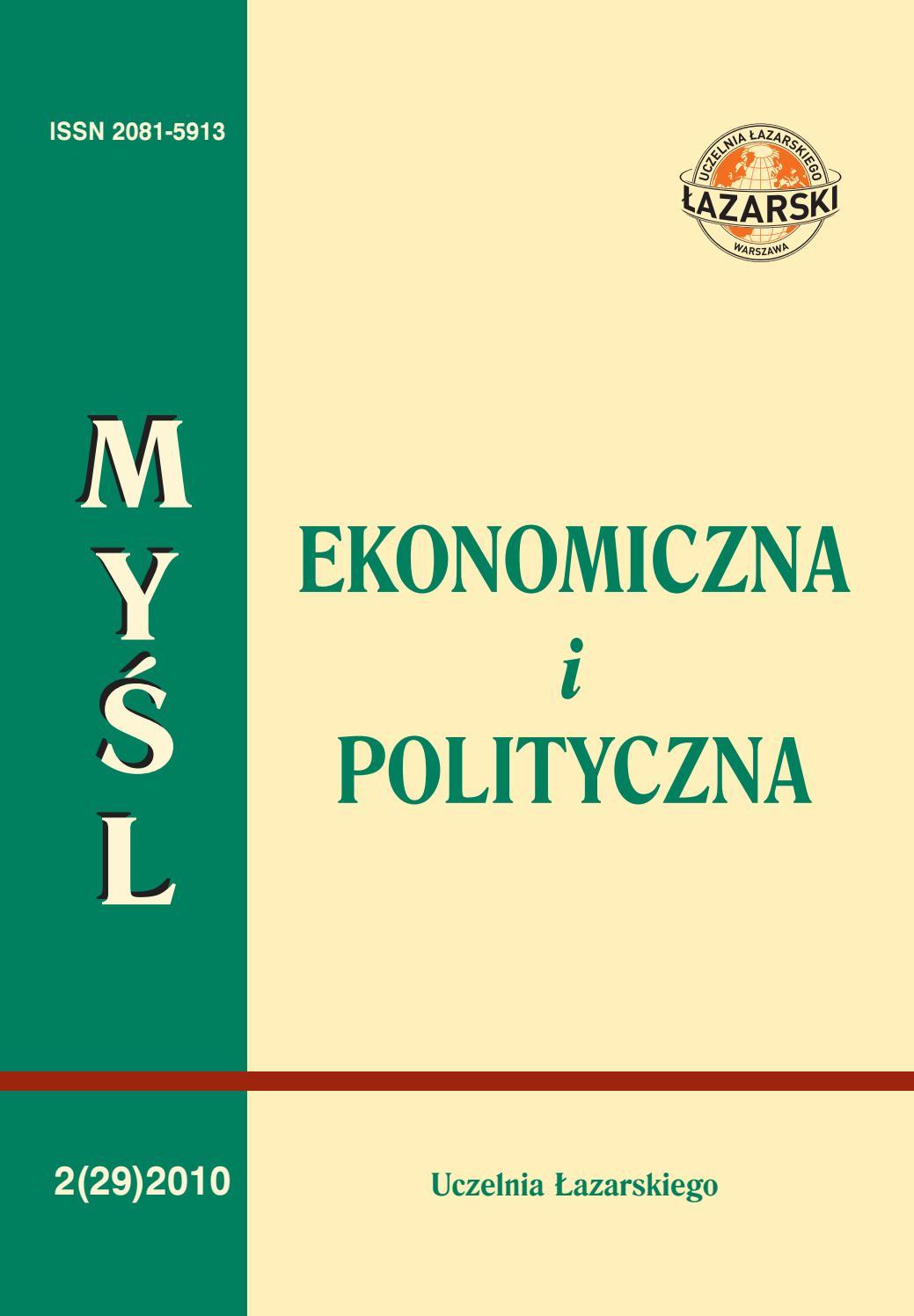 Meip 220210 By Lazarski Press Issuu