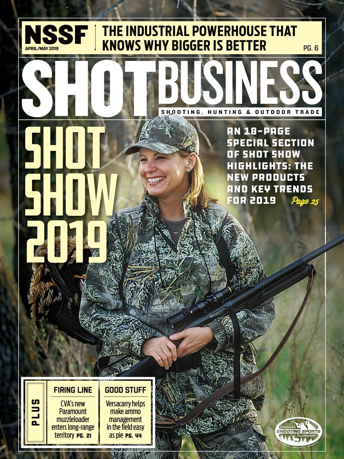 April/May 2019 SHOT Business by SHOT Business - issuu