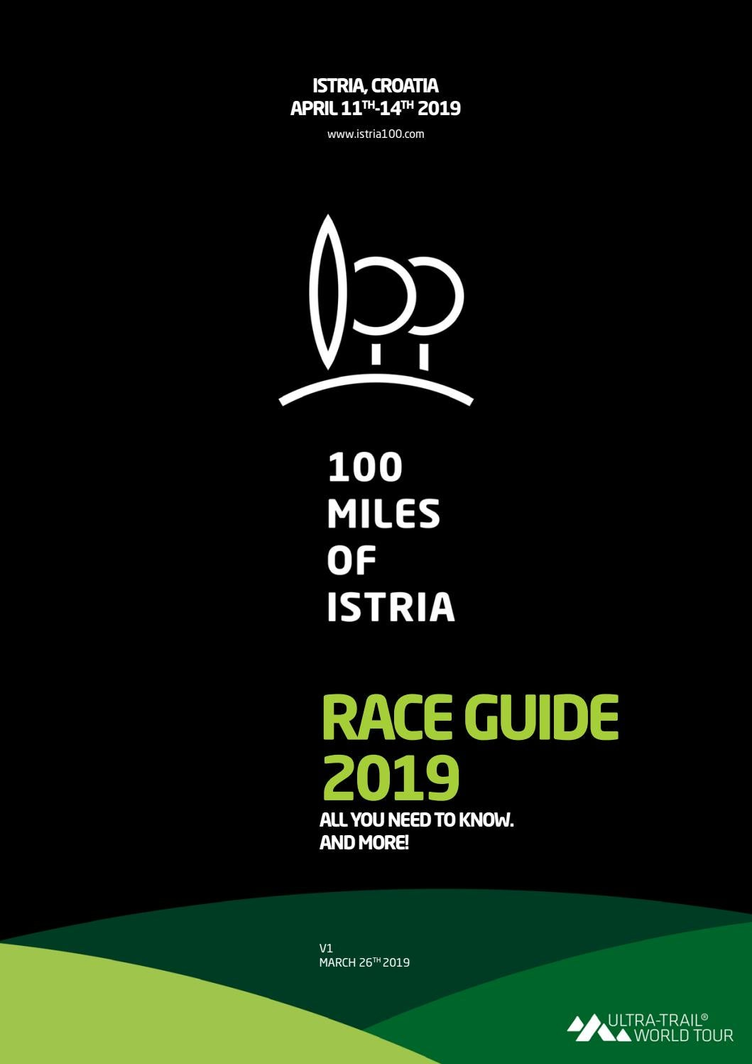 100 Miles of Istria 2019 Race Guide v1 by Alen Paliska - issuu