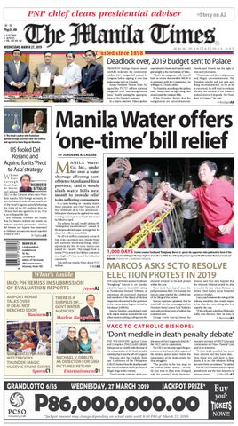 The Manila Times March 27 2019 By The Manila Times Issuu