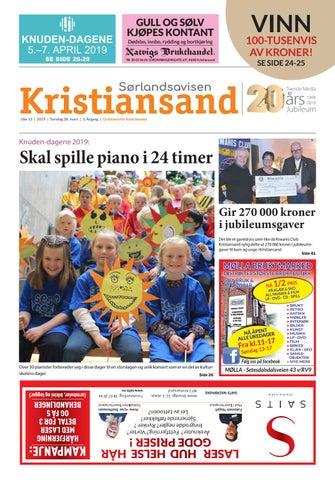 b10876ae Sørlandsavisen Kristiansand - Uke 13 by Tvende Media AS - issuu