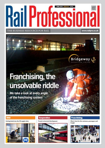 Rail Professional April 2019 by Rail Professional Magazine