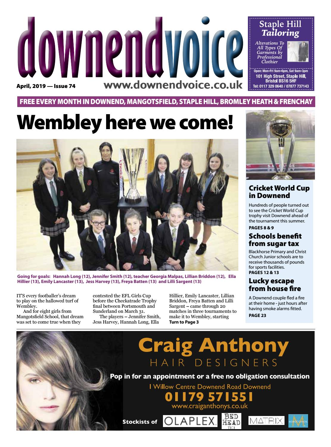 5defe40a0 Downend Voice April 2019 by Gary Brindle - issuu