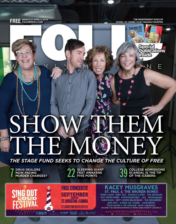 cfc95fcb Show Them The Money by Folio Weekly - issuu