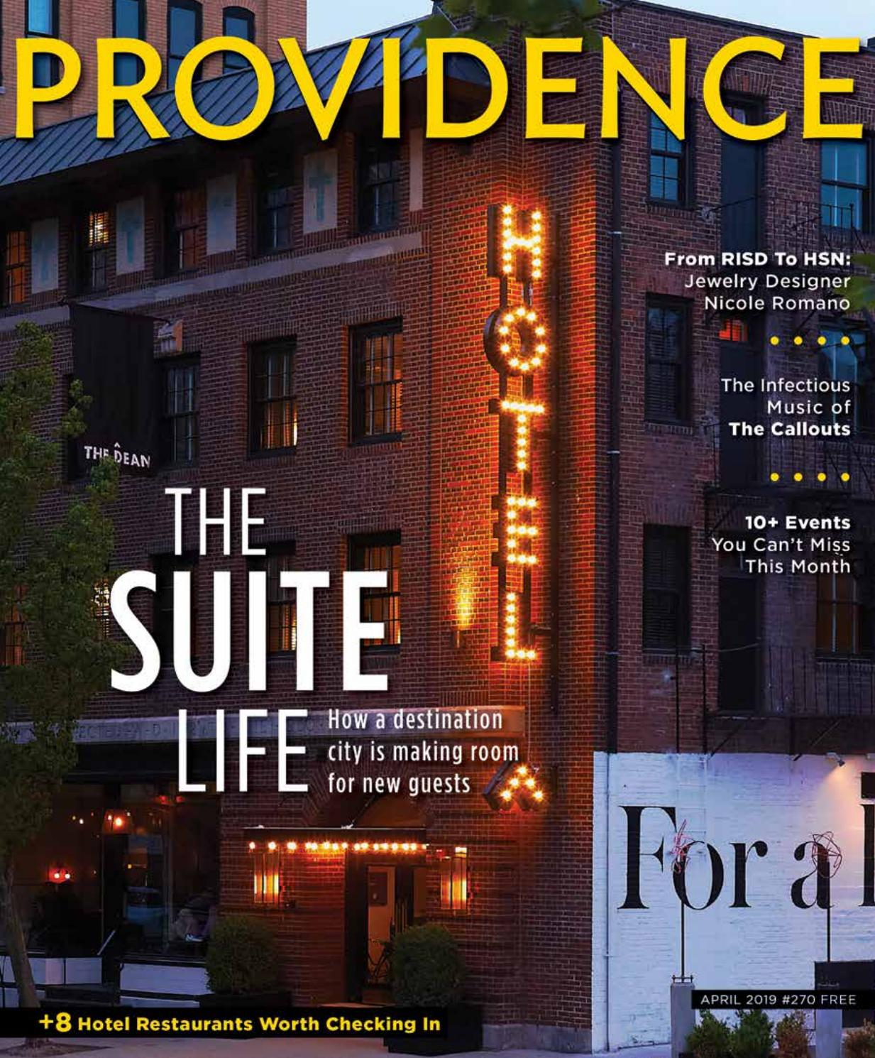 Providence Monthly April 2019 by Providence Media - issuu