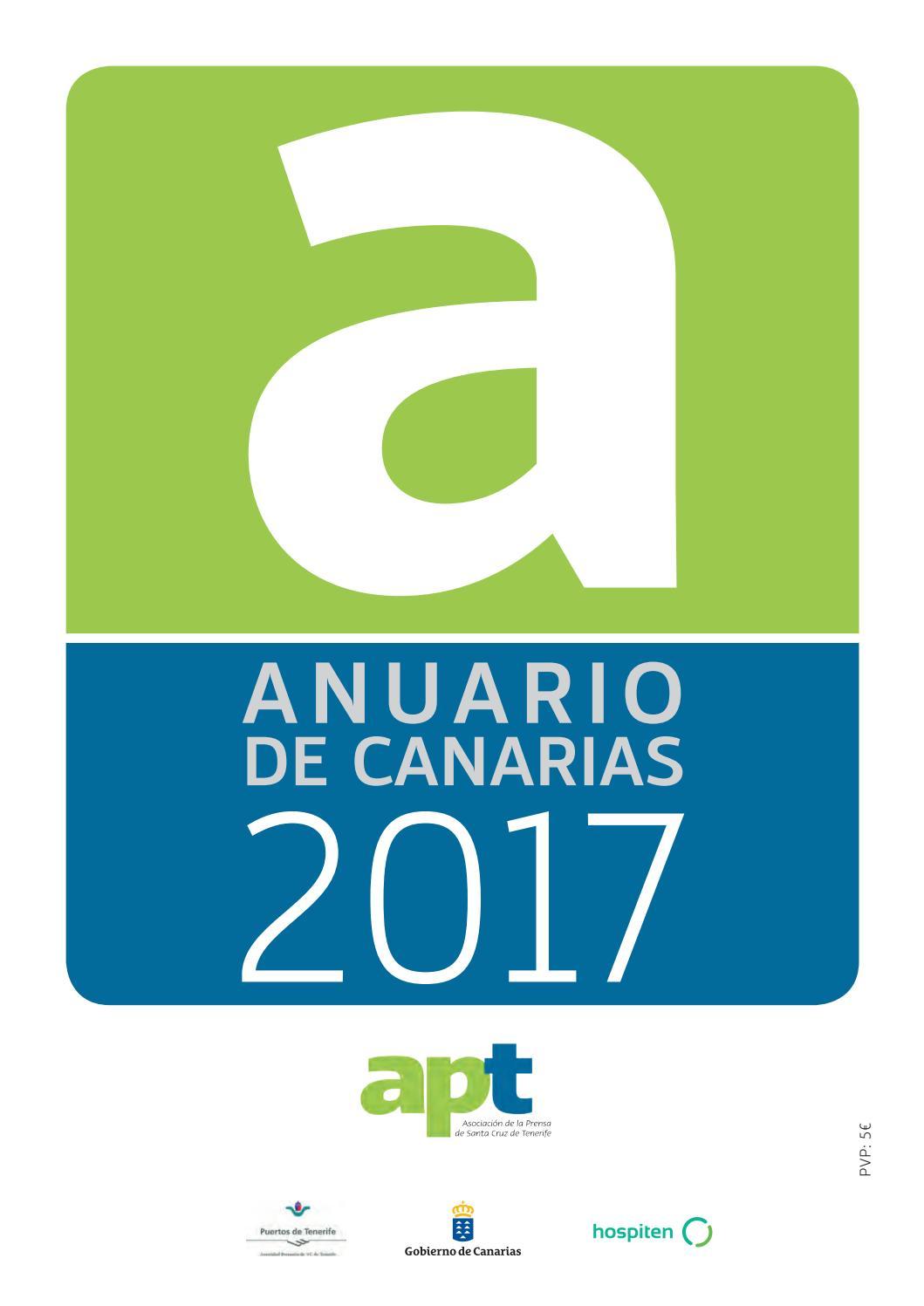 2e09f706a9 Anuario de Canarias 2017 by Asociación de la Prensa de Santa Cruz de  Tenerife - issuu