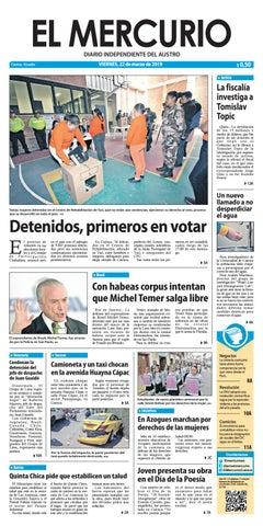 683f9dd93d68 El Mercurio-22-03-2019 by Diario El Mercurio Cuenca - issuu