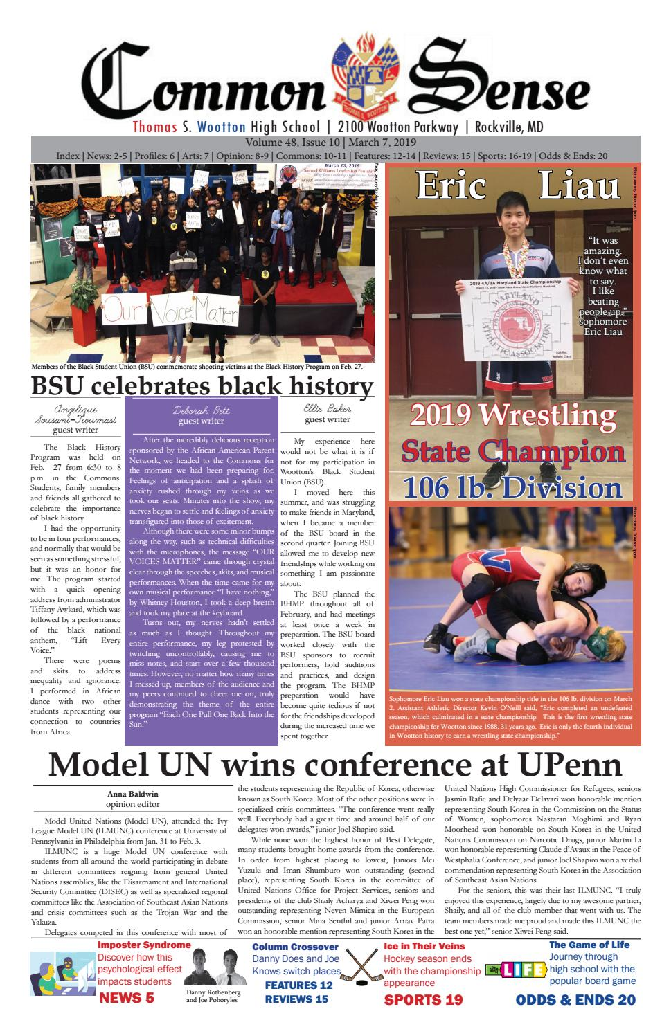 Issue 10 - March 7 2019 by woottonnews - issuu