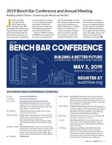 Page 7 of 2019 Bench Bar Conference