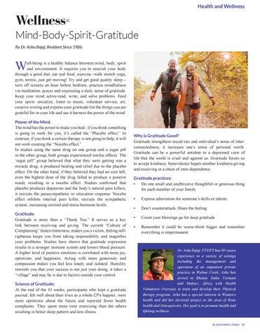 Page 19 of Wellness = Mind-Body-Spirit-Gratitude