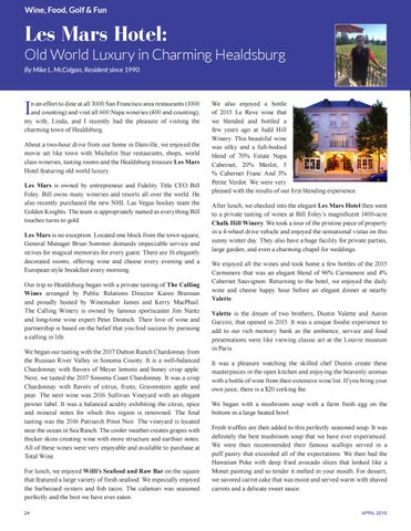Page 24 of Les Mars Hotel: Old World Luxury in Charming Healdsburg