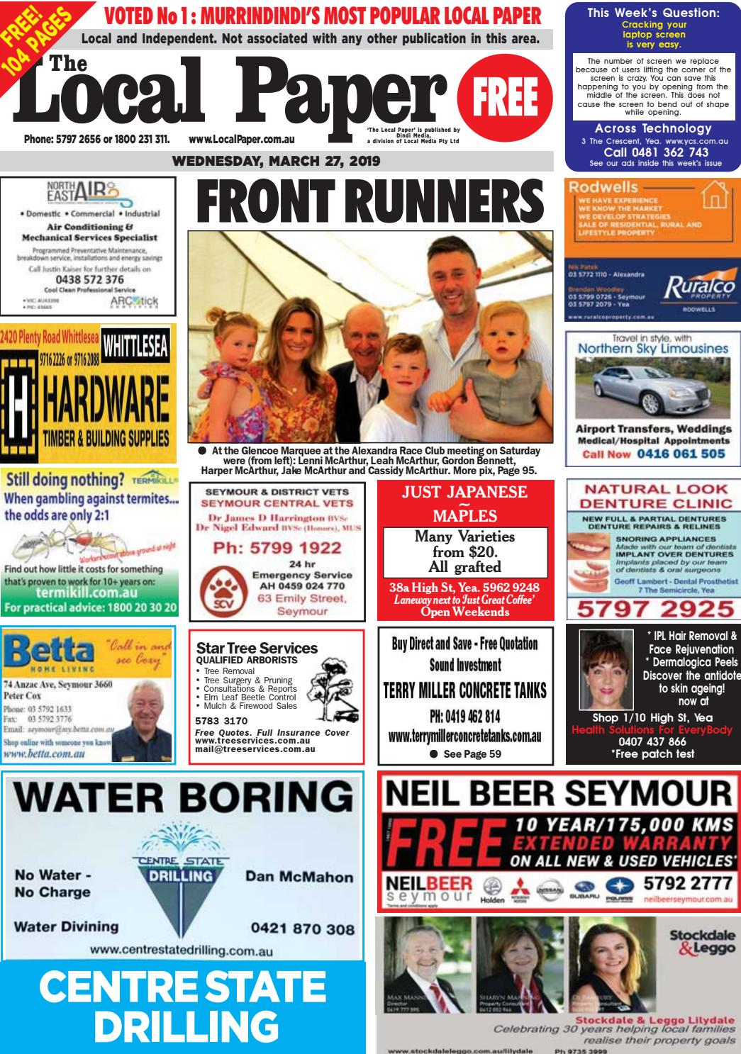 44a53b534ad0b The Local Paper. Wed.