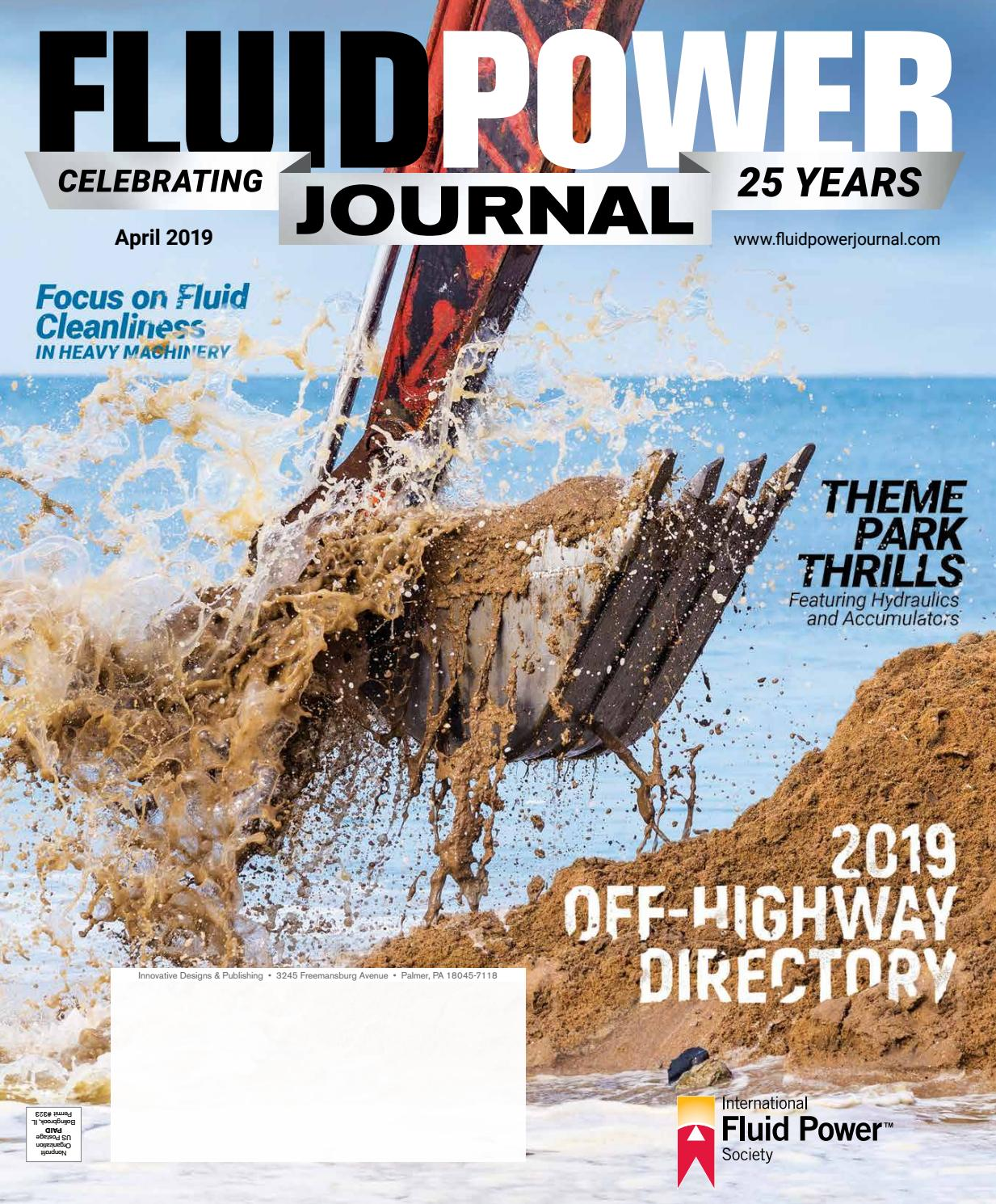 Fluid Power Journal April 2019 Issue by Innovative Designs